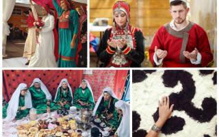 Красивая башкирская свадьба — национальные традиции