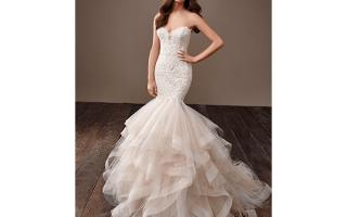Свадебное платье на осень — модные фасоны 2018 года