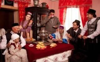 Татарская свадьба — национальные традиции и обычаи