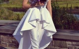 Свадебный брючный костюм для невесты, комбинезон