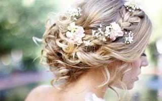 Свадебная прическа локоны — фото и мастер-класс