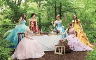 Конкурс-сказка на свадьбу — сценка три девицы под окном