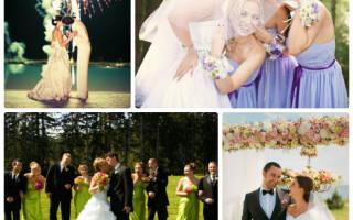 Свадьба в европейском стиле — оформление, платья, аксессуары