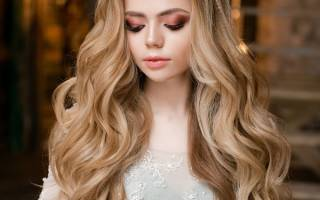 Свадебная прическа локоны на длинные волосы