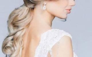 Свадебные прически с прямыми волосами — фото и видео идеи