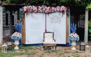 Фоны для свадебного фото — интересные идеи своими руками