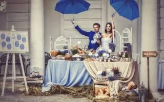 Оформление свадебного зала в стиле прованс своими руками — идеи