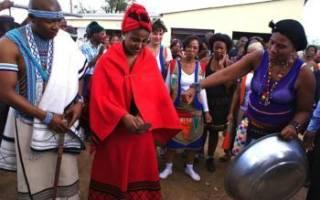 Африканская свадьба — предсвадебные и послесвадебные обычаи