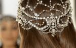 Украшения для свадебной прически — аксессуары для волос