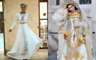 Свадебные платья — славянские, украинские наряды вышиванки