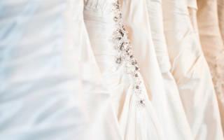 Ткани для свадебных платьев — фатин, бархат, тафта, лен