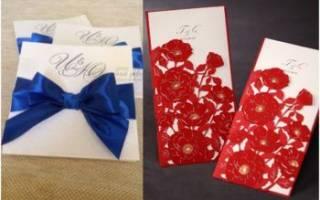 Красно-синяя свадьба — оформление, образ молодых, аксессуары