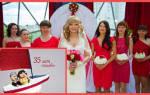 Коралловая свадьба — как отметить 35 лет совместной жизни