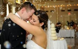 Свадебный танец — в загсе, последний на свадьбе