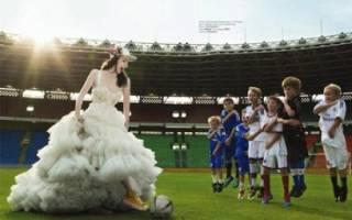 Спортивная свадьба — идеи в футбольном или квест стиле