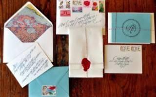 Конверты для приглашений на свадьбу своими руками — шаблоны