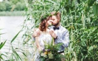 Свадебная фотосессия в лесу, парке, поле, прогулке, на пикнике