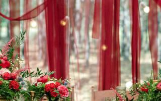 Как украсить ресторан на свадьбу — украшение веранды