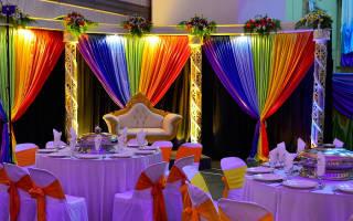Разноцветная свадьба в стиле радуга — идеи по оформлению
