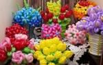 Букеты из шаров на свадьбу — идеи и мастер-класс