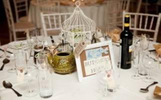 Оформление свадьбы в стиле шебби — декор и украшение зала
