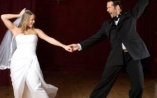 Красивое свадебное танго — первый танец молодых