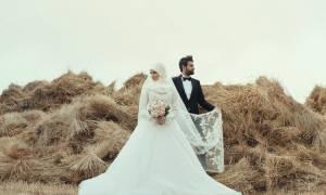 Мусульманские свадебные платья для невест — фото