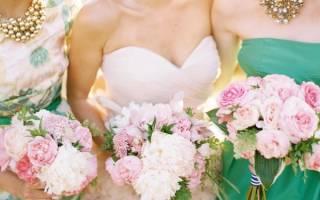 Виды свадебных букетов — как подобрать под образ невесты