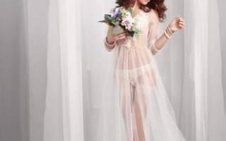 Модные будуарные платья для утра невесты 2017 года