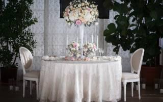 Скатерти на свадебные столы своими руками: мастер-класс с фото