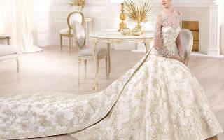 Свадебные платья со шлейфом — модные модели