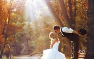 Свадебная фотосессия осенью — полезные идеи