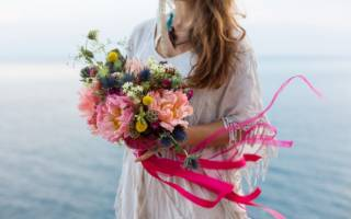 Букет невесты в стиле бохо — фото и видео обзор