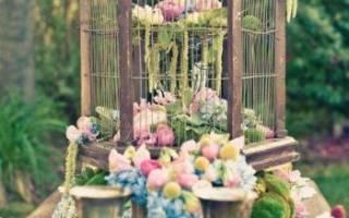 Свадьба в стиле винтаж — оформление, платье, аксессуары, декор