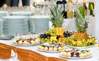 Виды столов на свадьбе: чайный, сырный, фруктовый, шведский