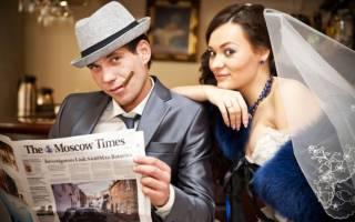 Веселый конкурс на свадьбу — шляпа, читающая мысли