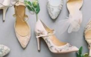 Модные и удобные свадебные туфли — как правильно выбрать?