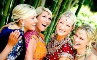 Как оформить и провести свадьбу в индийском стиле — идеи
