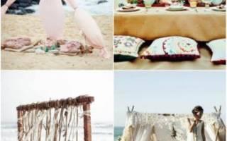 Оформление свадьбы в стиле бохо: декор зала и стола
