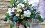 Свадебный букет растрепыш для невесты — идеи и мастер-класс