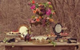Свадьба в стиле: барокко, средневековом, викторианском