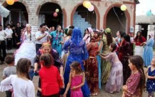 Цыганские свадьбы — народные традиции и обычаи