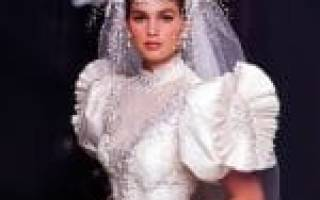 Свадебное платье в ретро-стиле 50-х, 60-х, 80-х годов