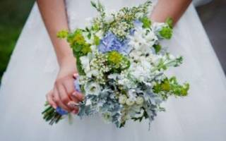 Свадебный букет невесты в стиле рустик — идеи