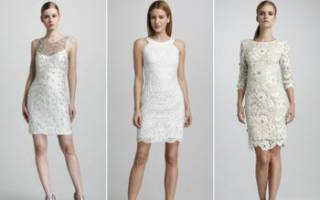 Простое свадебное платье своими руками — обзор самых модных