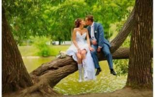 Свадебная фотосессия на природе — идеи и организация