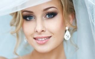 Свадебный макияж для голубых глаз — мастер-класс