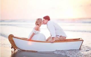 Свадьба в морском стиле — оформление, декор, аксессуары