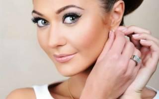 Свадебный макияж для серых глаз — мастер-класс