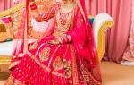 Свадебные платья: индийские, восточные, китайские